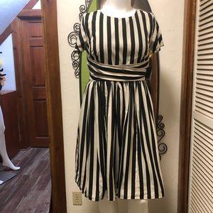 New eShatki B/W Striped Dress 14
